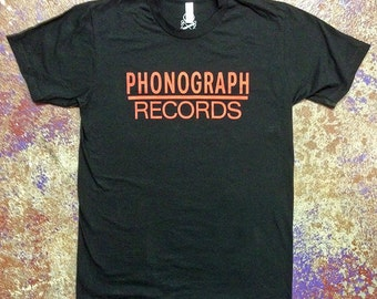 Phonogragh Records Tee
