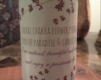 Sacral Chakra Flower and Gem Essence
