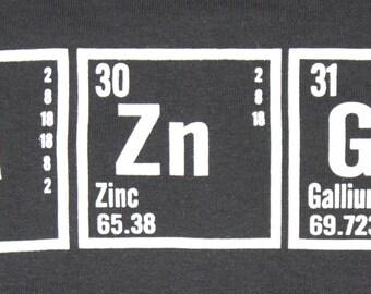 BAZINGA Hoodie - Big Bang Theory - Periodic Table