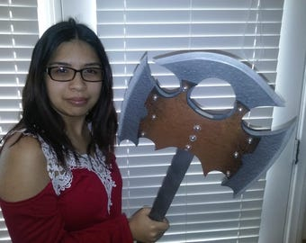 Custom Larping Axe and Prop for Medieval Role Play