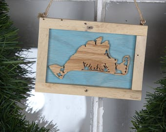 Marthas Vineyard Christmas Ornament - Wall Decor