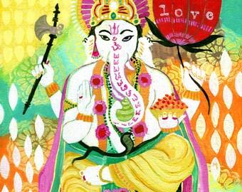 Ganesh of Love PRINT