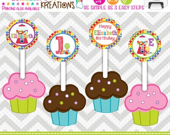 CT-464: DIY - Cute Candy Shop 2 Cupcake Toppers