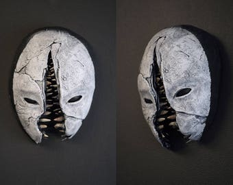 Splitface - sculptural ceramic mask