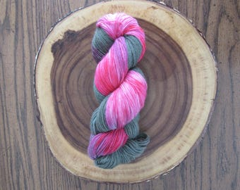 Pinkapotamus - Unique Hand Dyed/Indie dyed Sport Weight 100% Wool Yarn