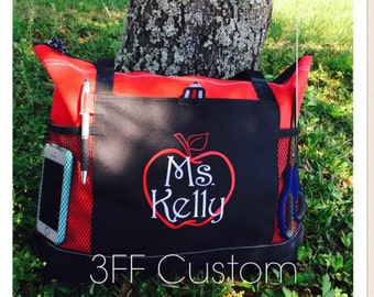 Personalized or Monorammed Select Tote Lots of Colors to Choose from Makes a Great Gift