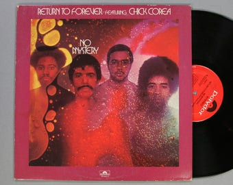 Return To Forever Featuring Chick Corea - No Mystery - Vintage Vinyl LP Record Album 1975 Jazz Fusion