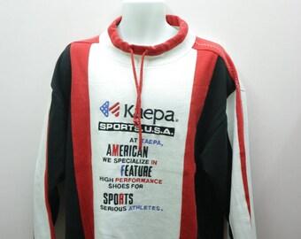 Vintage Keapa Sweatshirt Embroidery Spellout Streetwear Sportswear Urban Fashion Designer Pullover Sweatshirt Size L U9STcCB