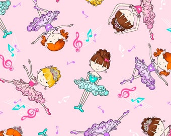 Ballerina Tutu, Cotton Fabric By The Yard, Pink Fabric, Quilting Supplies, Craft Projecsts, Girls Quilts, Kids Sewing Projects, Pillowcase