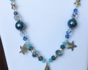 Starfish Trio Necklace
