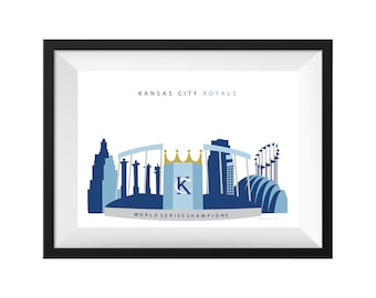 Kansas City Royals Print