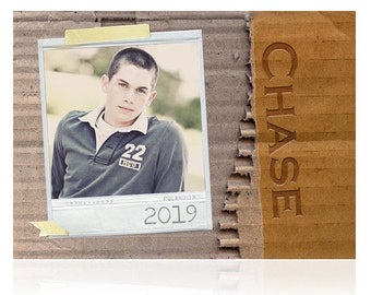 Printed Unique High School Graduation Announcements - sets of 25