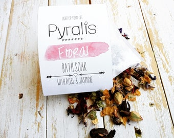 Floral Tea Bath, Tub Tea, Rose Tea Bath, Bath Tea Bags, Tea Bath, Botanical Bath, Bath Soak, Teas for Bath, Organic Bath Soak