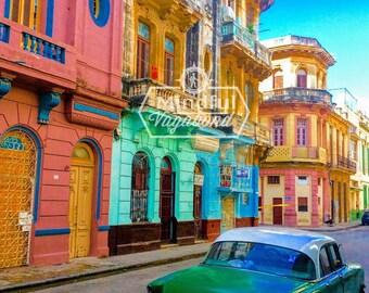 The Pastel Streets of Havana
