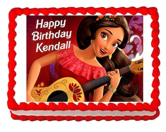 Princess Elena of Avalor edible cake image cake topper frosting sheet