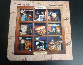 Three Dog Night American Pastime Vinyl Record LP ABCD-928 ABC Records 1976