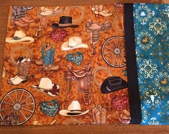 Western Theme / Cowboy / Boots & Saddle Travel Pillowcase - Free Shipping