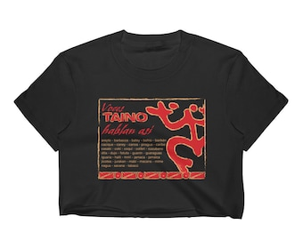 Voces Taino - Women's Crop Top