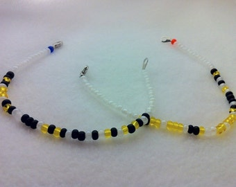 GLaDOS Portal Valve For Science You Monster Wheatley Portal 2 Chell Morse Code Friendship Bracelets