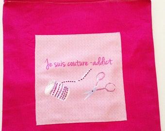 Tote bag sewing addict