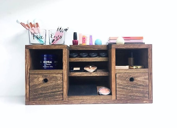 Wonderful Vanity Makeup Organizer Makeup Vanity Makeup Storage