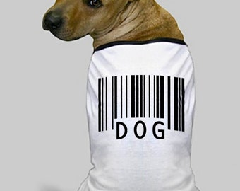 Barcode Dog T-Shirt