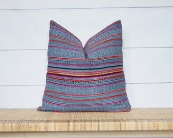 Hmong Pillow Cover | 22x22 | No42