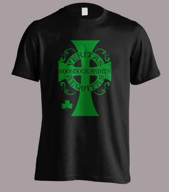 Boondock Saints shirt Cross Aequitas Veritas S-4XL and Long Sleeve Available