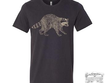 Mens RACCOON T Shirt s m l xl xxl (+ Color Options) custom