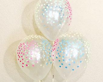 NEW Neon Confetti Look Balloons, Neon Confetti Look Balloon, Unicorn Party, Neon Party, 80's Party, Neon Balloons, Neon Rainbow Latex, Neon