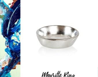 Brushed Silver Ring, Silver Ring, Modern Silver Ring, Recycled Silver Ring, Minimalist Silver Ring, Reclaimed Silver, Artisan Ring