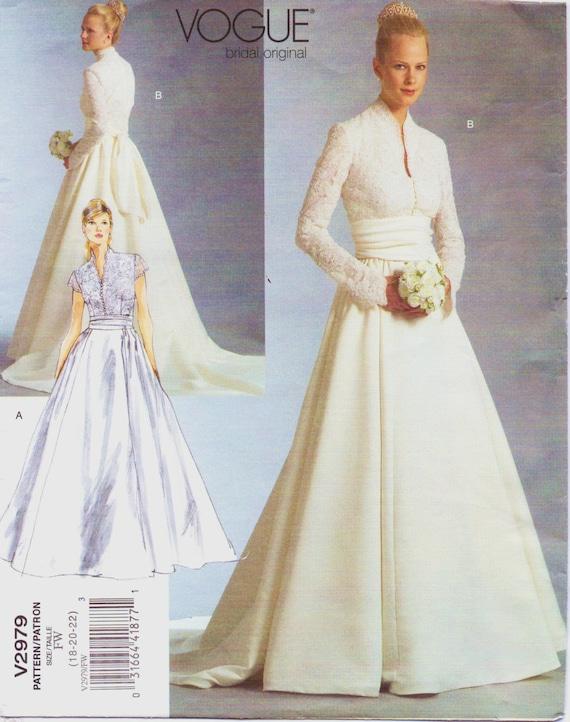 Womens Princess Catherine Bridal Dress Vogue Bridal Original