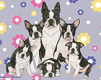 Soft Fleece Blanket, Boston Terrier, English Bulldog, Boxer, Pug, Pitbull, American Bulldog, French Bulldog