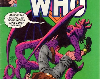 Marvel Premiere #58 Doctor Who
