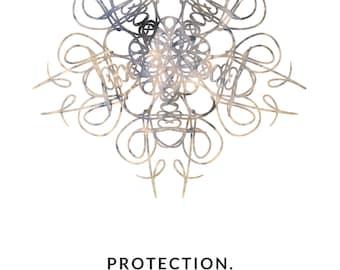 June Mandala Sigil #8: PROTECTION.