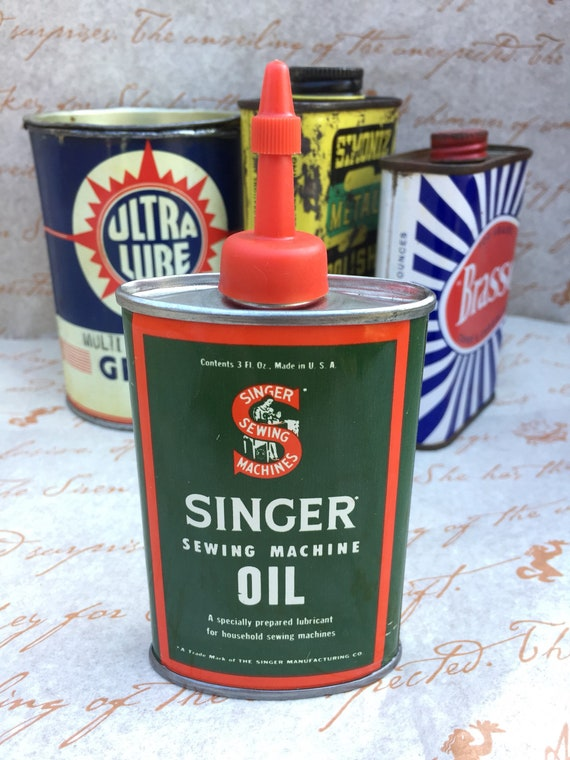 Singer Sewing Machine Oil Tin Simple Singer Sewing Machine Oil Tin