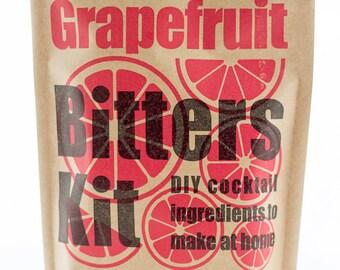DIY Cocktail Bitters Kit (Grapefruit)