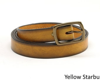 3/4 inch Bridle Leather Belts
