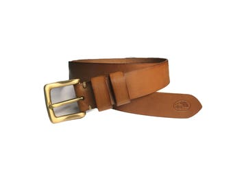 Leather belt traditionnal