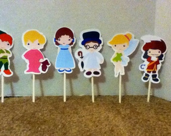 Cute Fairytale Cupcake Toppers Set of 12