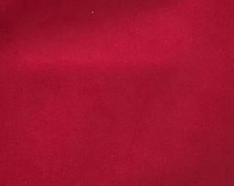 Scarlett Red Velvet Pillow Cover
