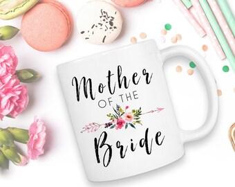 Mother Of The Bride, Wedding Mug, Wedding Gift, Mother Of The Groom, Coffee Mug, Mother Of The Bride Mug, Mother Of The Bride Gift, Gift