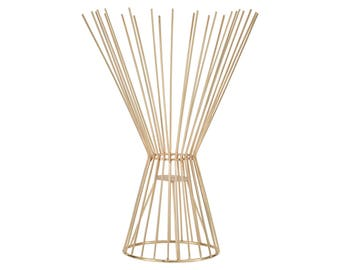 Emily Maxwell Luxury Modern Abstract Candle Holder - W 30 cm / D 30 cm / H 41.5 cm / 930 g
