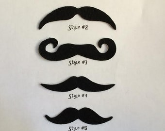 TEN PACK Mustaches, Select Your Own Mustache Pack, Moustaches, Moustache, Halloween, Fake Mustache, Adhesive Mustache, Party Favors, Stache