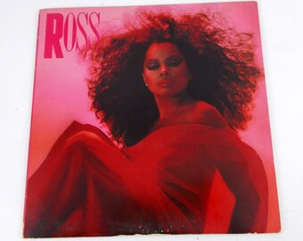 "Diana Ross ""Ross"" Vinyl LP Record Album AFL1 4677"