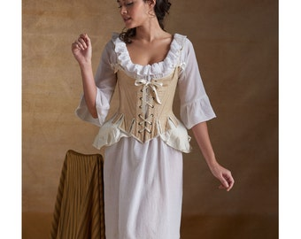 Historical Misses' 18th Century Undergarments Simplicity 8162 - Chemise, Bum Pad and Corset Sizes: 6 -8 -10 -12 -14 or 14 -16 -18 -20 -22