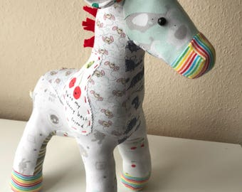 Weighted Keepsake Animal - from your Baby Clothes
