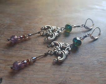 Asteria Victorian earrings