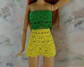 Doll clothing, barbie, barbie summer set