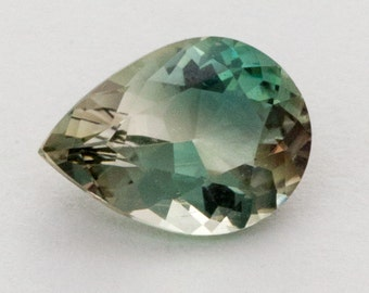 Green Clear Sunstone, Pear, 1.5ct (S514)